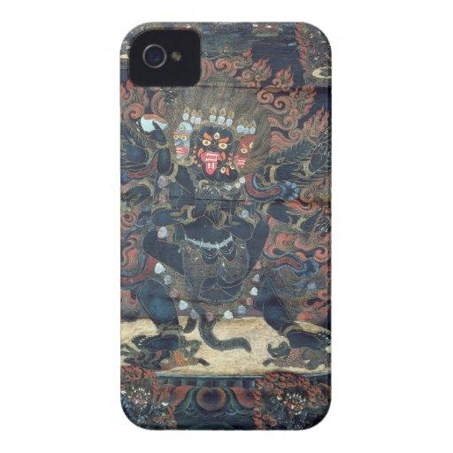 Mandala (painted parchment) iPhone 4 Case-Mate cases