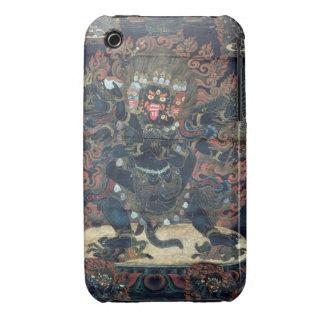 Mandala painted parchment iPhone 3 Case-Mate case