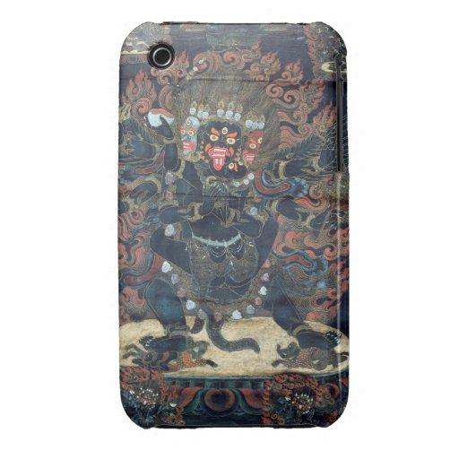 Mandala (painted parchment) iPhone 3 Case-Mate case