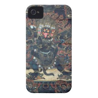 Mandala painted parchment iPhone 4 Case-Mate cases