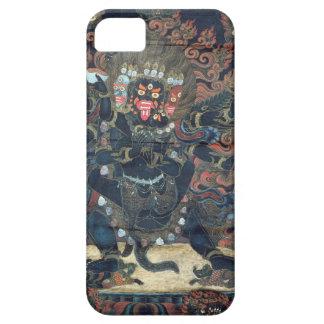 Mandala painted parchment iPhone 5 case