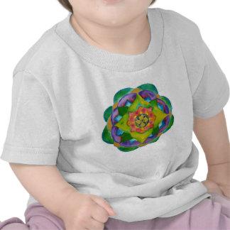 Mandala Painting Infant T-Shirt, White