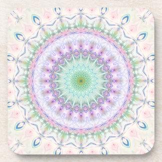 Mandala pastel no 4 by Tutti Beverage Coaster