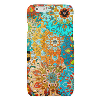 Mandala pattern. Arabic, Indian, ottoman motifs. iPhone 6 Plus Case