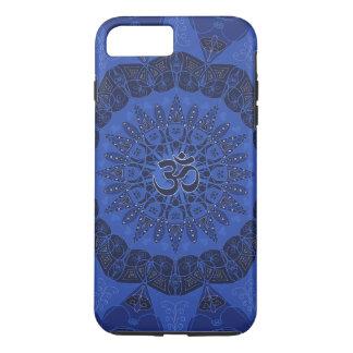 Mandala pattern navy yoga namaste pattern floral iPhone 7 plus case