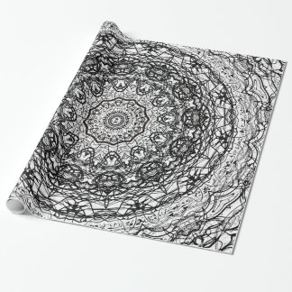 Mandala Pattern Wrapping Paper