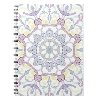 Mandala photo note book (80 lined pages S/W)
