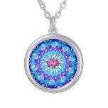 Mandala Pink Lotus Custom Jewelry