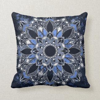 Mandala Polyester Throw Pillow