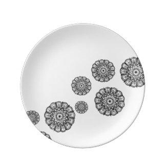 Mandala Porcelain Plate