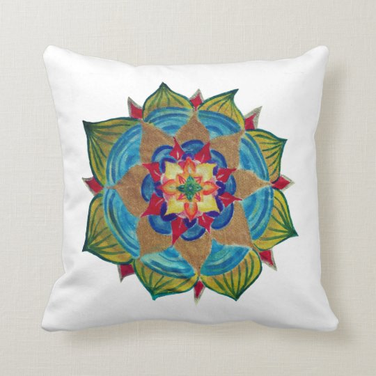 Mandala power Throw Cushion