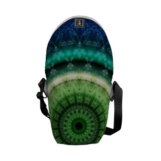 Mandala respect created by Tutti Courier Bag