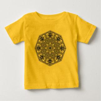 Mandala Round Ornament Baby T-Shirt
