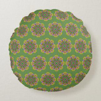 Mandala Satu Round Cushion