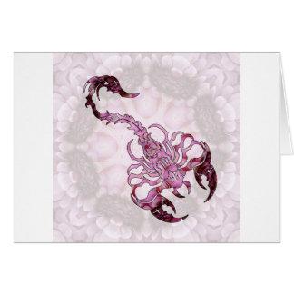 Mandala Scorpion 02 Greeting Card