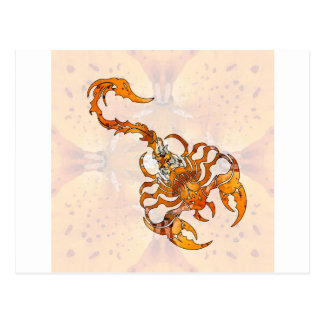 Mandala Scorpion 04 Post Cards