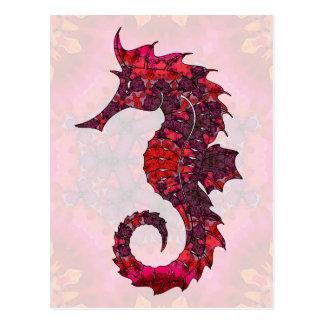 Mandala Seahorse 02 Postcard