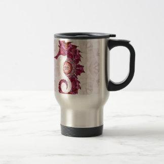 Mandala Seahorse 03 Travel Mug