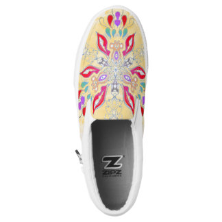 Mandala Slip On Printed Shoes