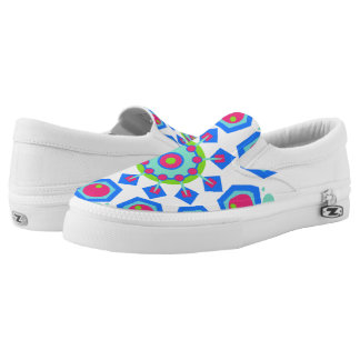 mandala slip on shoes