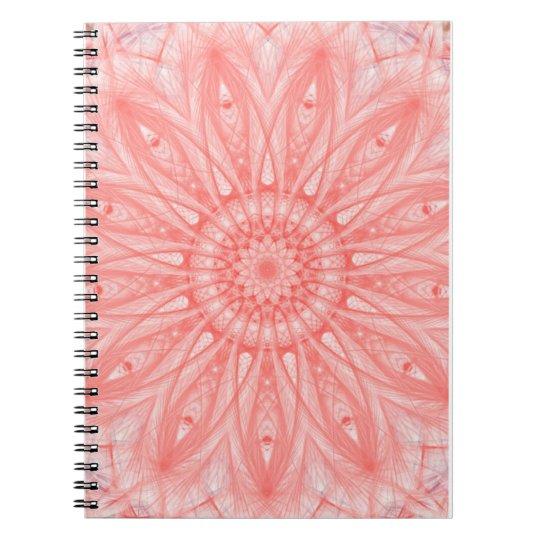 Mandala spiral photo note book