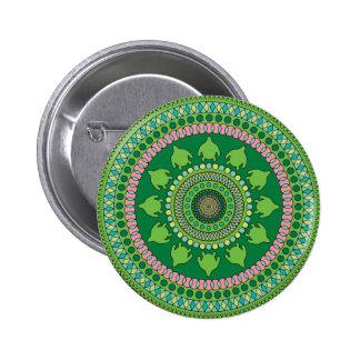 Mandala Standard, 2¼ Inch Round Button