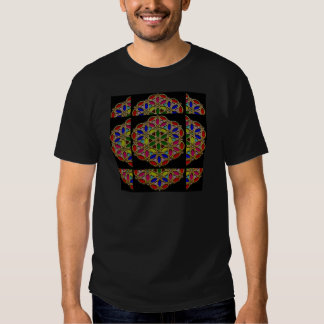 Mandala style Colorful Necklace Pendent designs 99 T-shirts