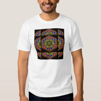 Mandala style Colorful Necklace Pendent designs 99 Tee Shirt