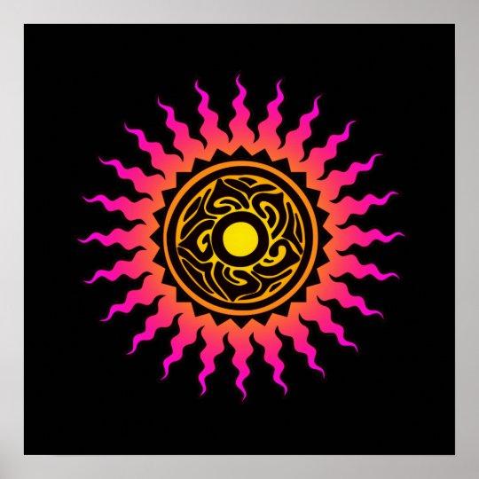 Mandala Sun 1 Poster