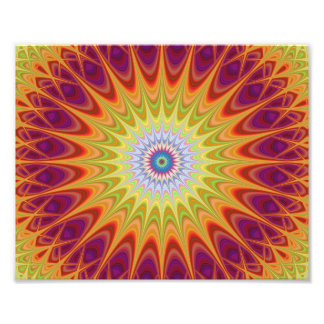 Mandala sun art photo