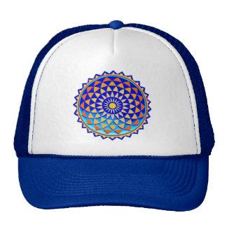 Mandala Symbol of Perfection Mesh Hats