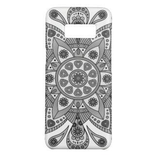 Mandala Tiga Abu Abu Case-Mate Samsung Galaxy S8 Case