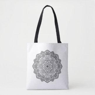 Mandala Tote Bag- Customize quote