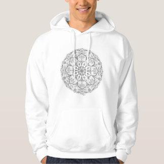 Mandala Tribal Dotwork Hoody Sweatshirt