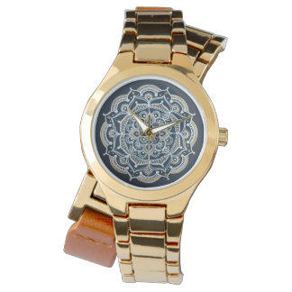 Mandala Watch gold