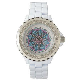 Mandala watch- White. Watches