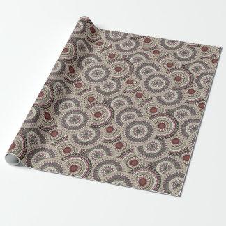 Mandala X Wrapping Paper