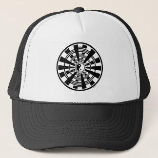 Mandala - Ying Yang Trucker Hat