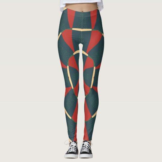 Mandalaic kaleidoscope leggings