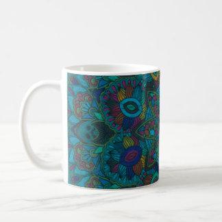 Mandalas 7 Hand-Colored Multiple Products Basic White Mug