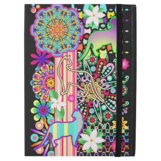 "Mandalas, Cats & Flowers Fantasy Pattern iPad Pro 12.9"" Case"
