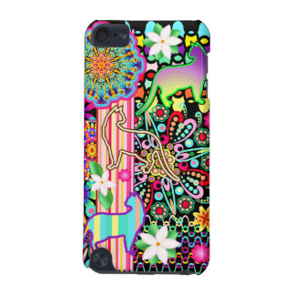 Mandalas, Cats & Flowers Fantasy Pattern iPod Touch (5th Generation) Covers