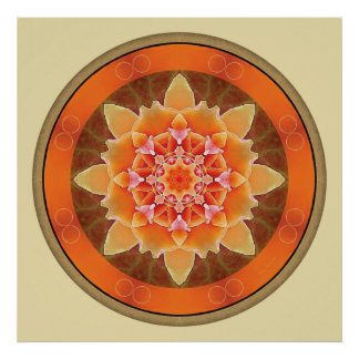 Mandalas for a New Earth, No.  2 Poster