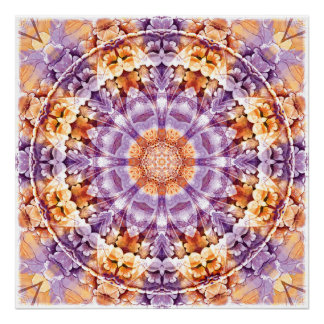Mandalas from the Heart of Change 19 Poster