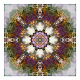 Mandalas from the Heart of Change 1 Poster