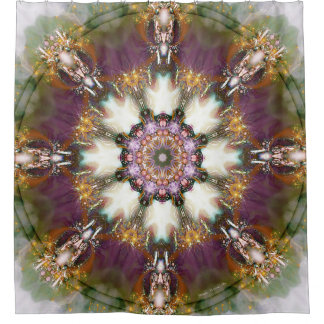 Mandalas from the Heart of Change 1 Shower Curtain