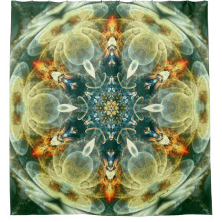 Mandalas from the Heart of Change 6 Shower Curtain