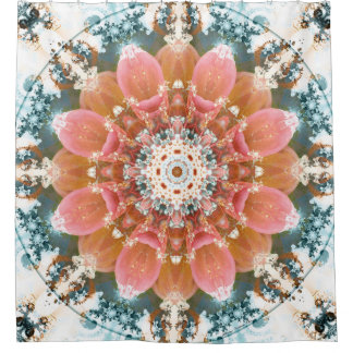 Mandalas from the Heart of Change 8 Shower Curtain