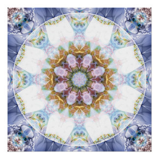 Mandalas from the Heart of Freedom 14 Poster