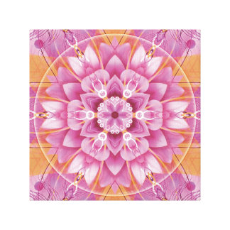 Mandalas from the Heart of Freedom 5 Canvas Print